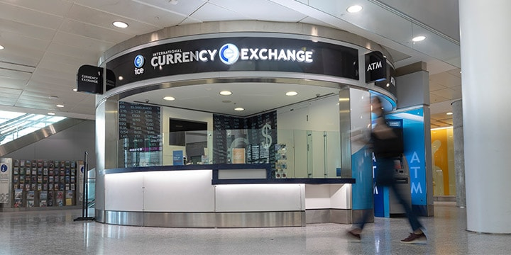 Pearson Currency Exchange Terminal 1